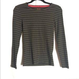 Boden striped blouse